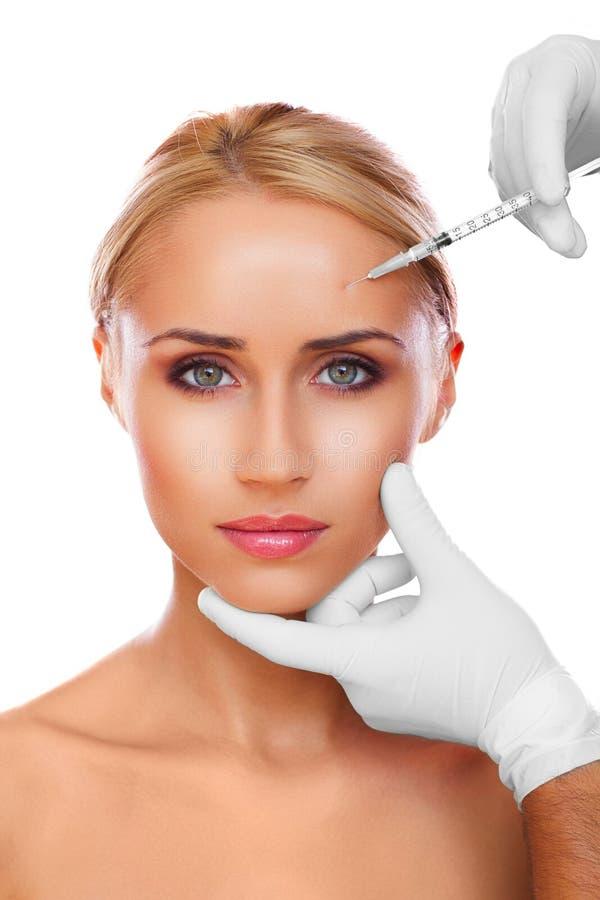 Kosmetische Einspritzung stockbild