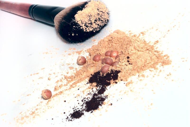 Kosmetische hulpmiddelen royalty-vrije stock afbeelding