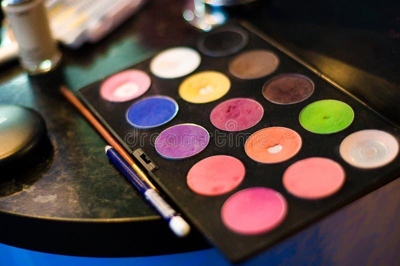 Kosmetische hulpmiddelen stock afbeelding