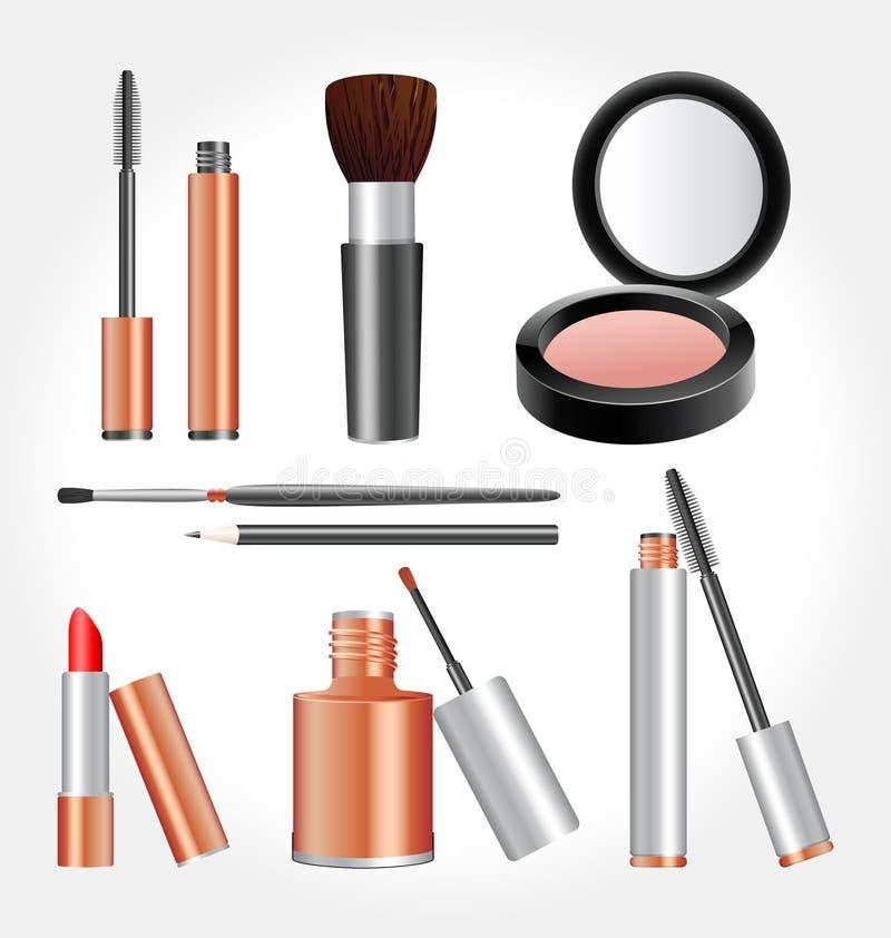Kosmetische Hulpmiddelen stock foto
