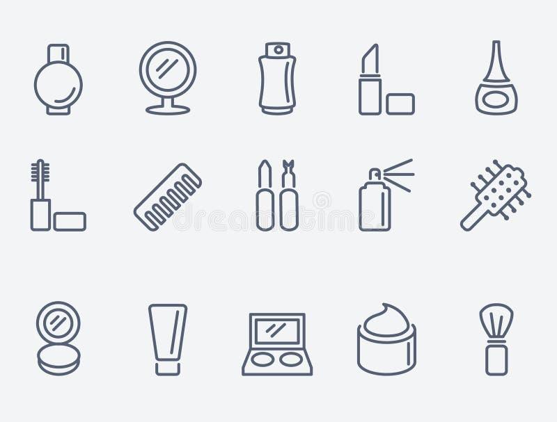 Kosmetische Ikonen stock abbildung