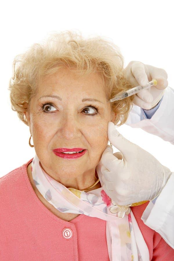 Kosmetische Injecties stock fotografie