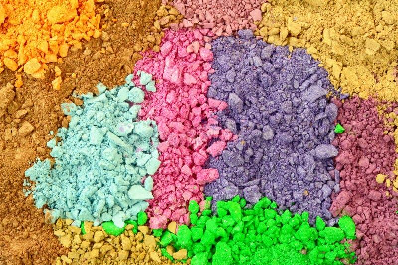 Kosmetische Kleuren royalty-vrije stock foto's