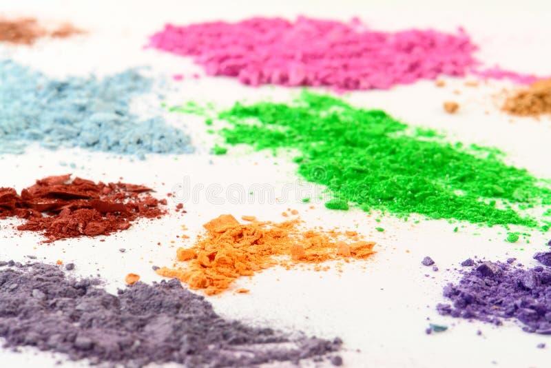 Kosmetische Kleuren royalty-vrije stock afbeeldingen