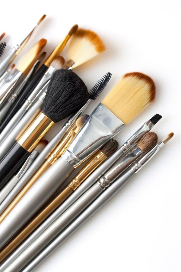 Kosmetische Pinsel stockbilder