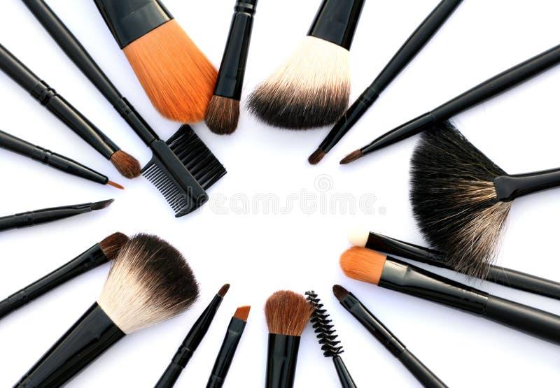 Kosmetische Pinsel lizenzfreie stockfotografie