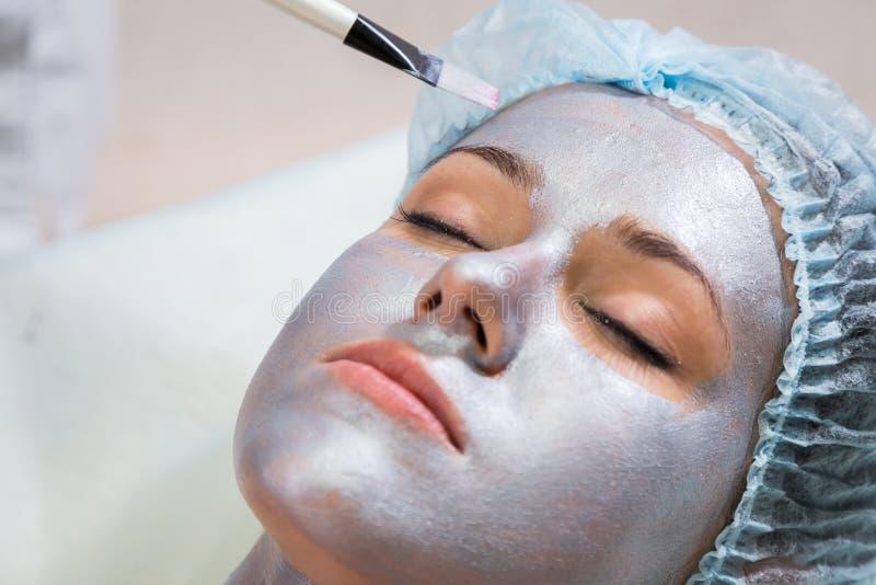 Kosmetische procedures voor het gezicht royalty-vrije stock afbeelding