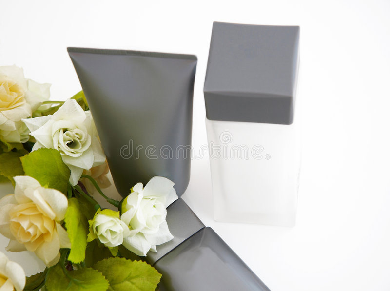 Kosmetische Produkte stockfoto