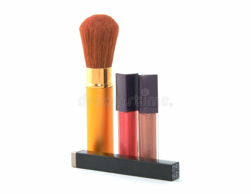 Kosmetische reeks stock foto