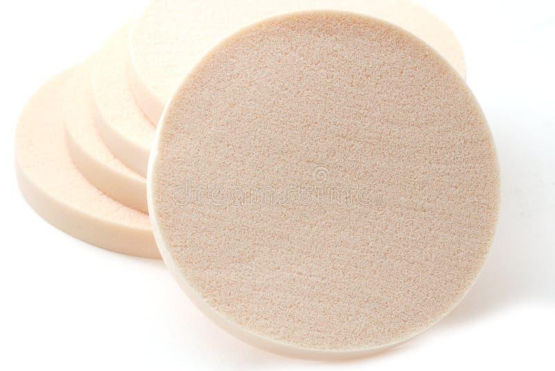 Kosmetische sponsen stock fotografie