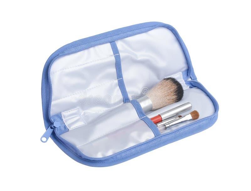 Kosmetische Tasche lizenzfreies stockfoto
