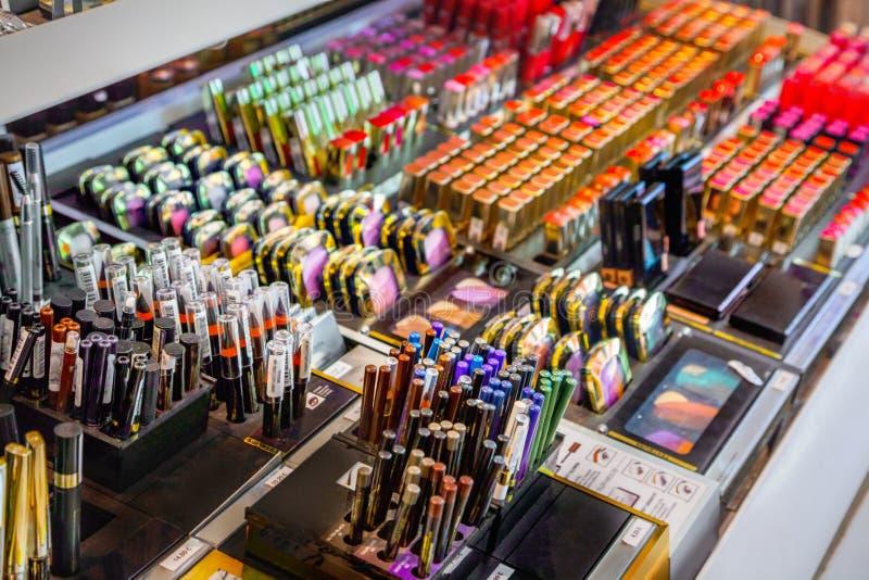 Kosmetische winkel stock fotografie