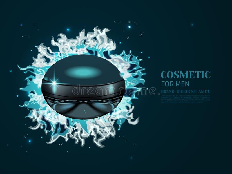 Kosmetisches Produkt oder Parfüm lizenzfreie abbildung