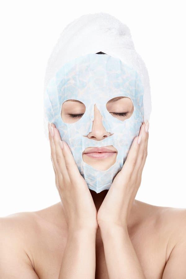 kosmetisk behandling royaltyfri foto