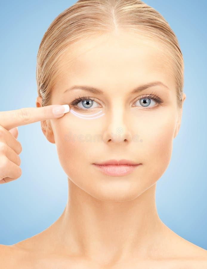 Kosmetisk kirurgi royaltyfria foton