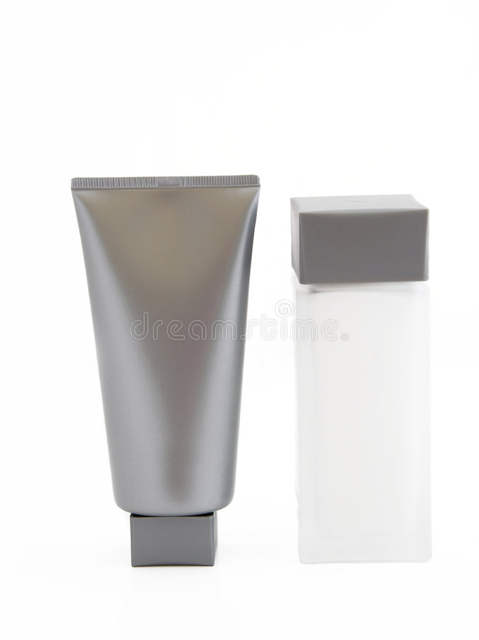 kosmetiska produkter royaltyfri fotografi