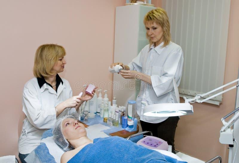 kosmetologia zdjęcie stock