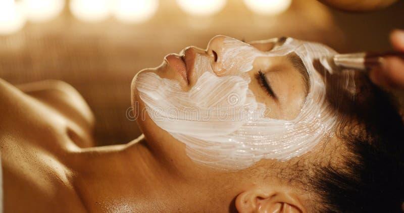 kosmetyczna maskę twarzy obrazy royalty free