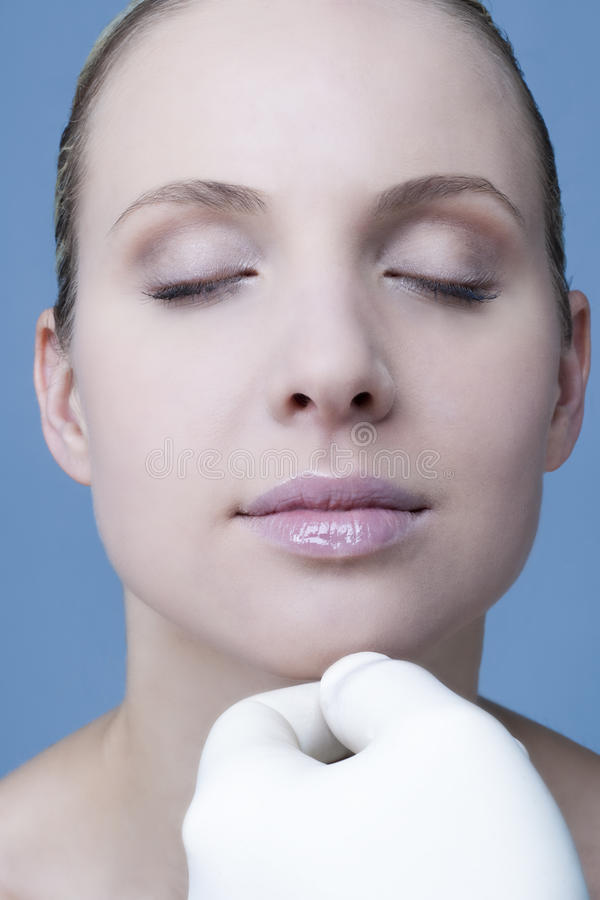Download Kosmetyczna medycyna zdjęcie stock. Obraz złożonej z kolagen - 13326136