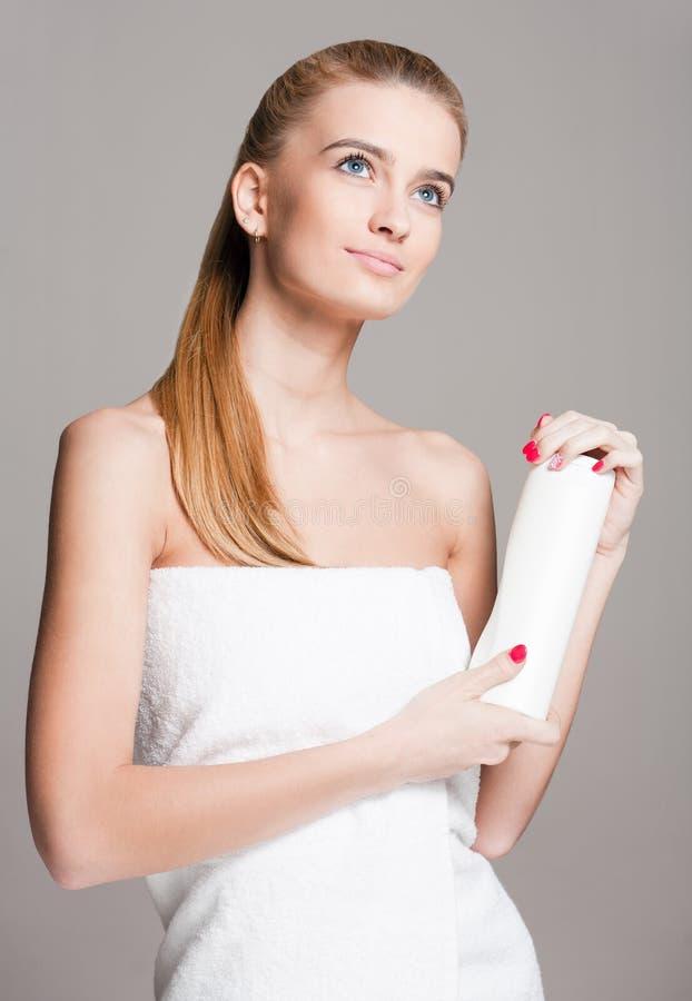 Kosmetyczna opieka dla twój skóry fotografia stock