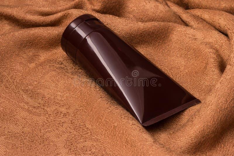 Kosmetyków zbiorniki zdjęcie royalty free