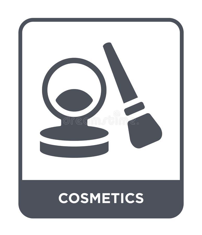kosmetyk ikona w modnym projekta stylu kosmetyk ikona odizolowywająca na białym tle kosmetyk wektorowej ikony prosty i nowożytny  ilustracji