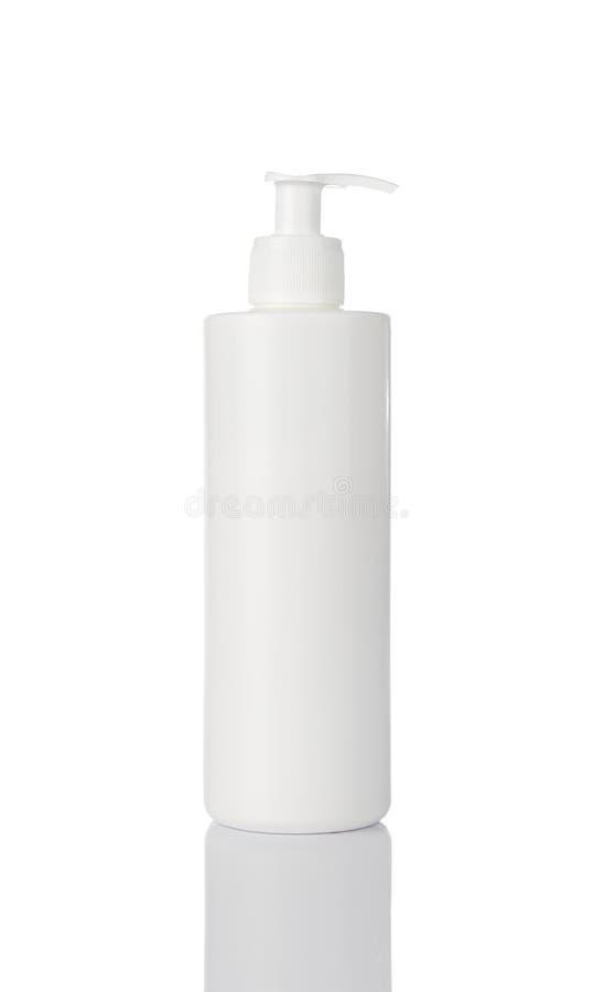 Kosmetyk pusta butelka obraz stock