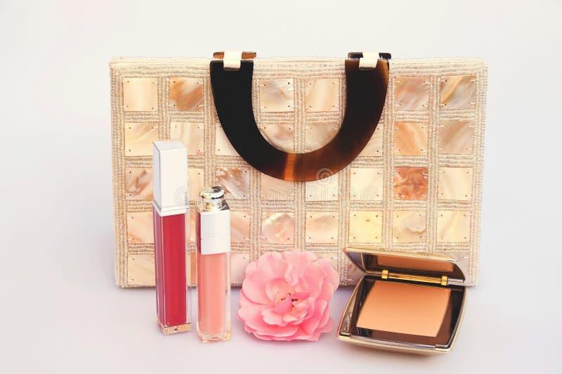 kosmetyk torebka obraz royalty free