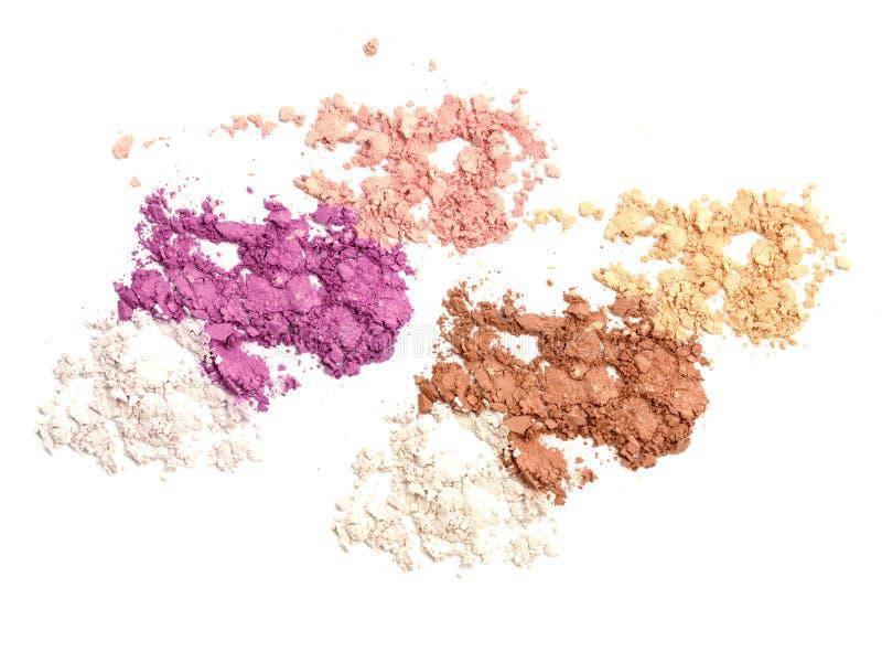 Kosmetyka pojęcia mody piękna Prochowy Rozrzucony różnorodny przemysł zdjęcia stock