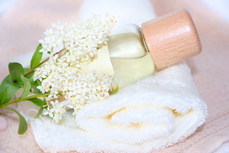 kosmetyki naturalnych obraz stock