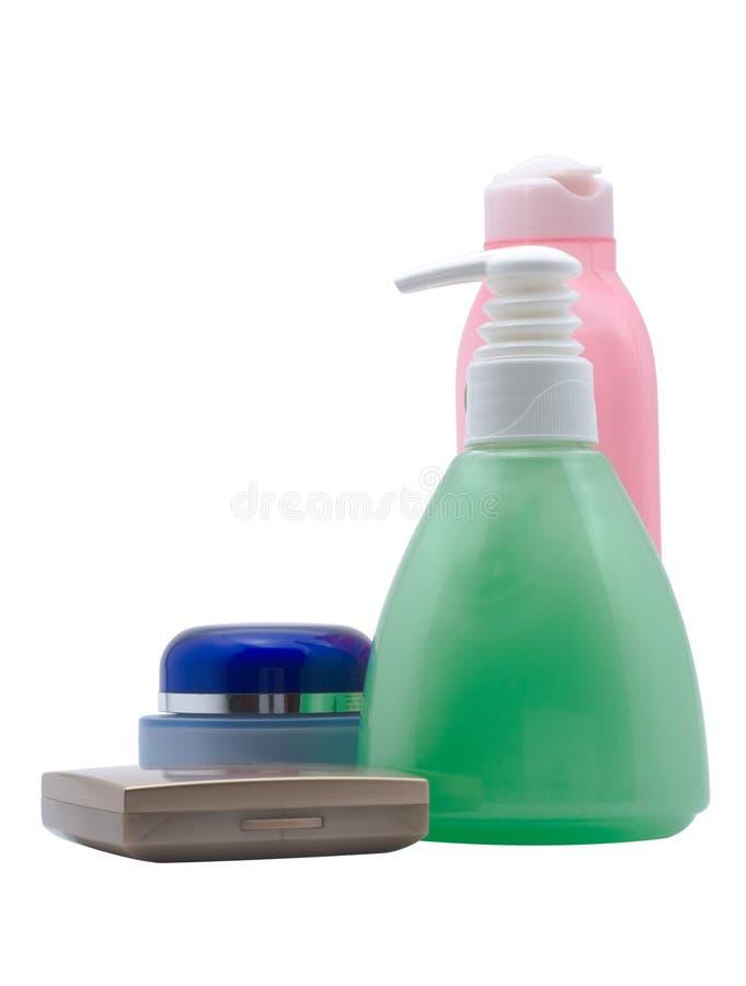 kosmetyki ustawiający obrazy stock
