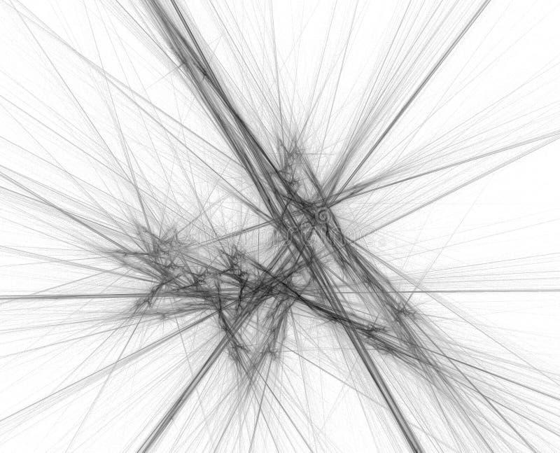 kosmiczne linii ilustracji