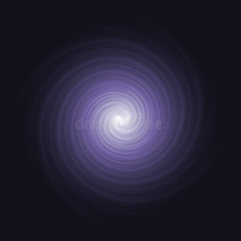 kosmiczny czy purpurowy ilustracji