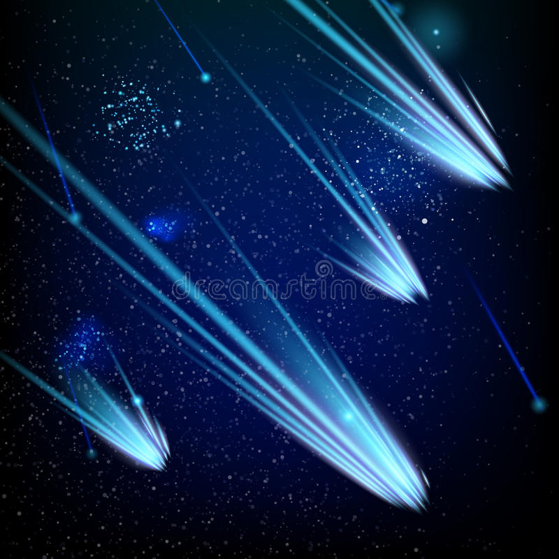 Kosmisch ruimtemalplaatje Eps 10 royalty-vrije illustratie