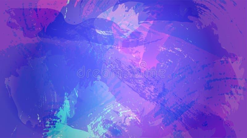 Kosmische dynamische achtergrond stock illustratie