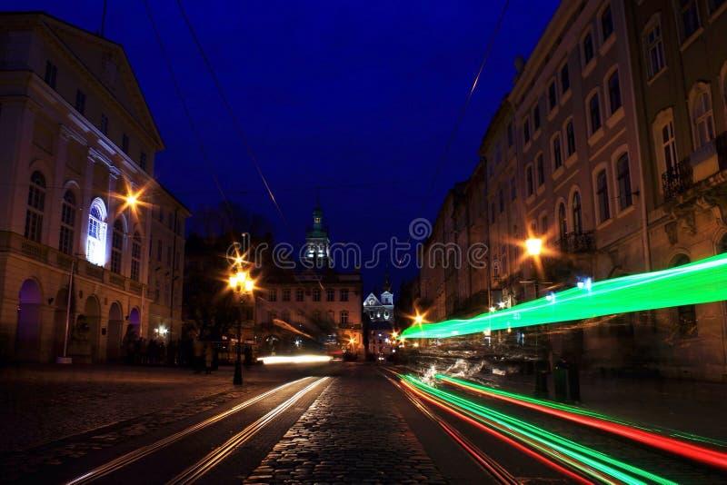 Kosmische Lviv royalty-vrije stock foto