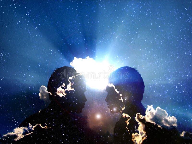 Kosmische Transformatie royalty-vrije illustratie