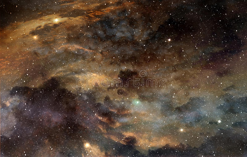 Kosmischer Staub lizenzfreie abbildung
