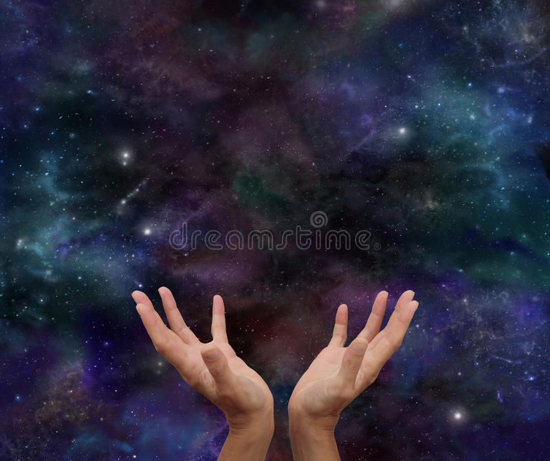 Kosmisches Heilen lizenzfreies stockbild