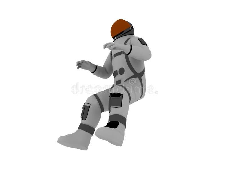 Kosmonaut vektor abbildung