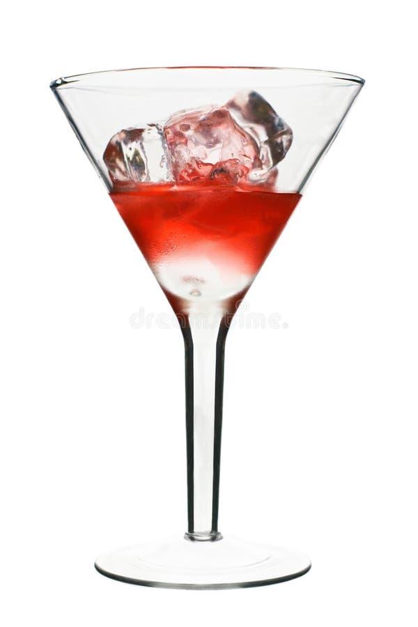Kosmopolitisch - rotes alkoholisches Cocktail lizenzfreie stockfotografie