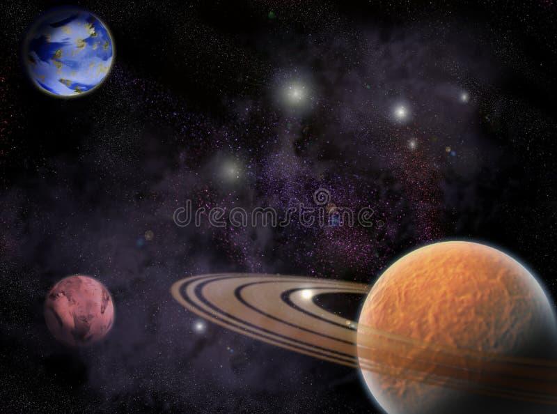 Kosmos vector illustratie