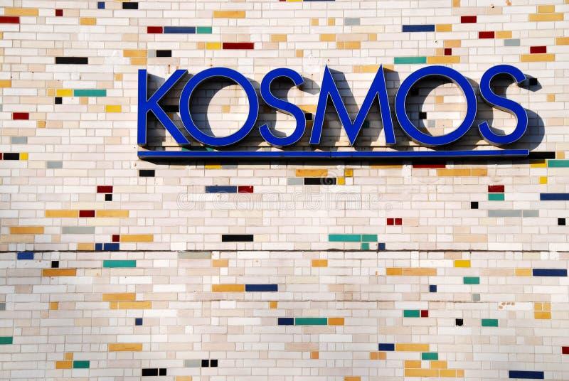 Kosmos em Berlim imagens de stock royalty free