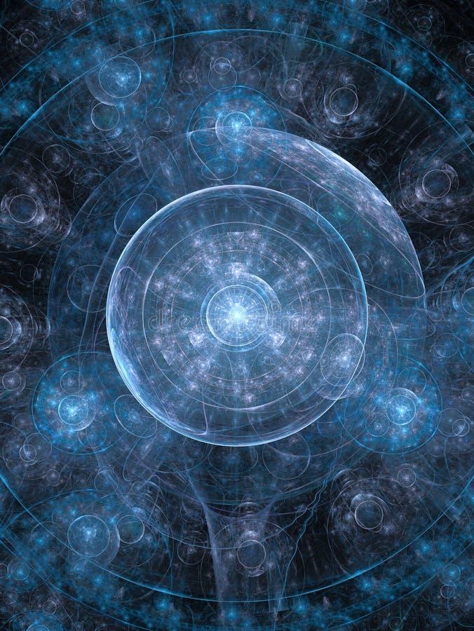 Kosmos-Hintergrund lizenzfreie abbildung