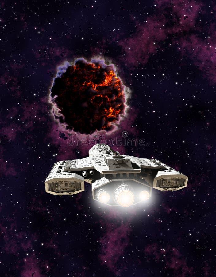Kosmos jednostka ilustracja wektor