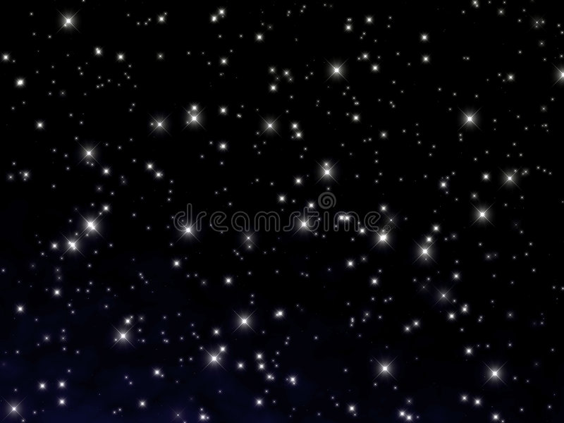 kosmos tło royalty ilustracja