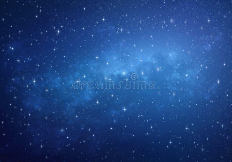Kosmosu tło ilustracji