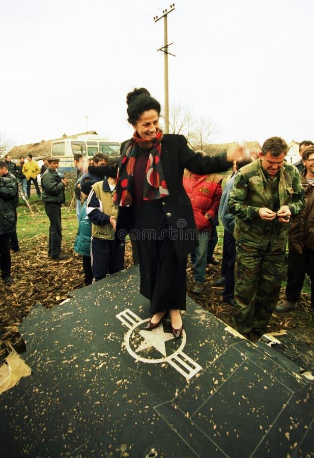 KOSOVO-KRISE stockfotos