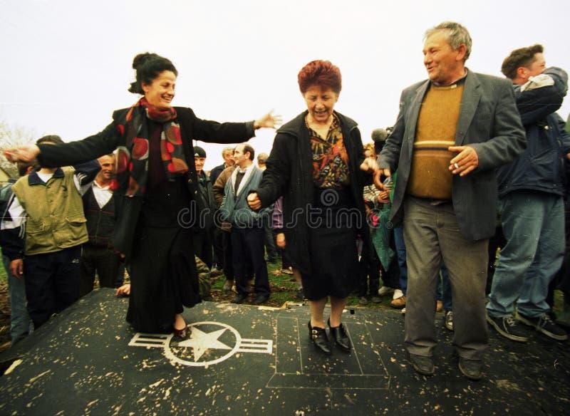 KOSOVO-KRISE lizenzfreies stockbild