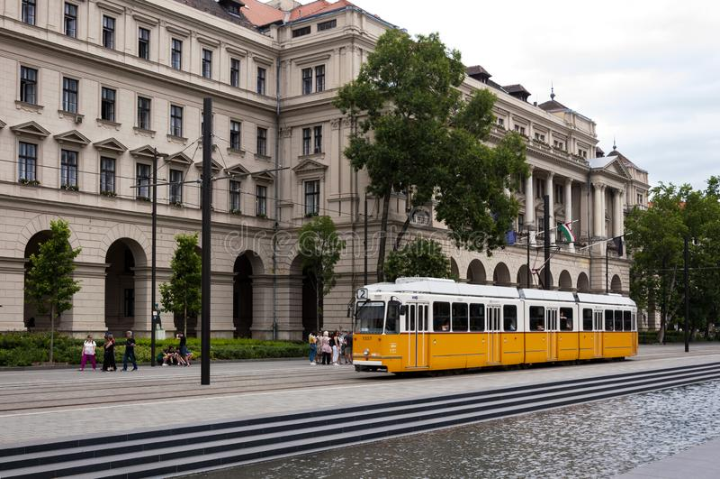 Kossuth Lajos Square imagenes de archivo